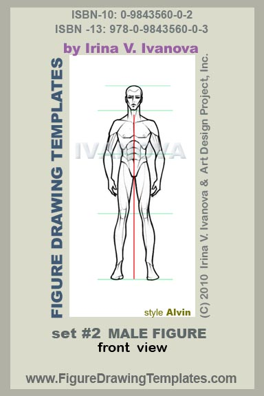 Drawing Male Body Using Figure Templates